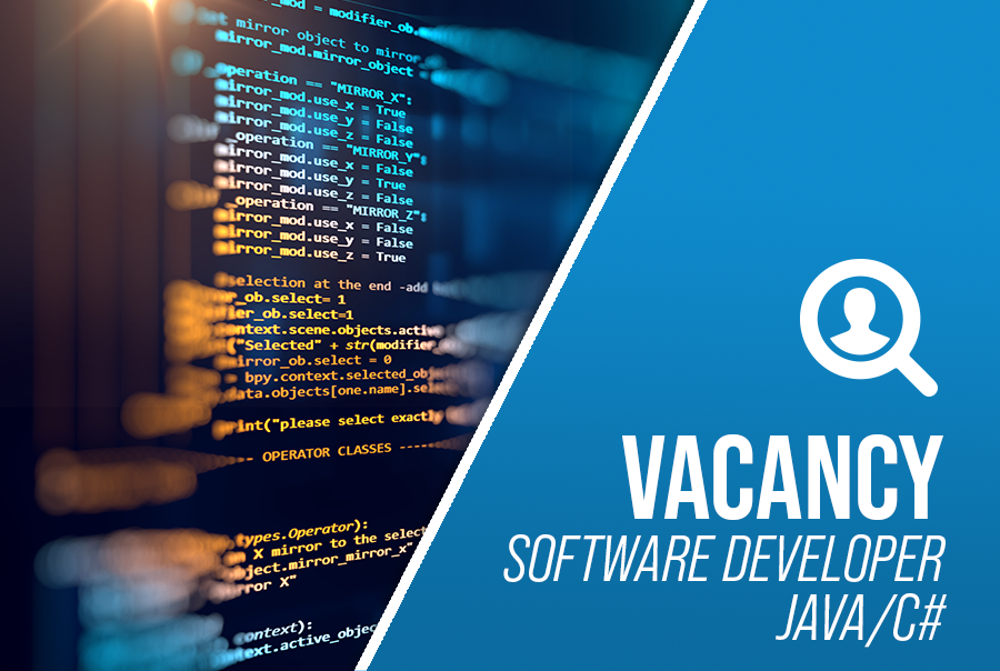 Software developer vacancy