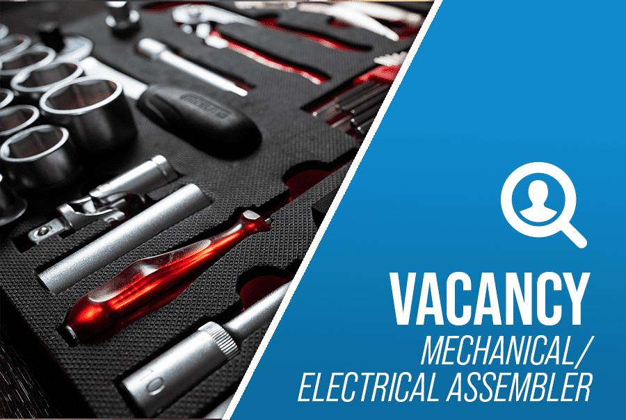 Mechanical Electrical Assembler Job Vacancy