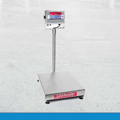 Ohaus-Defender-3000 column weighing scale