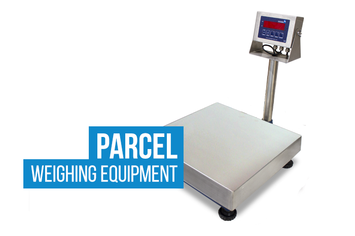 Parcel weighing scale