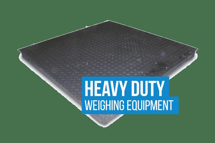 Heavy Duty Weighing equipment
