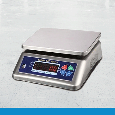Super-SS-5-series bench weighing scale