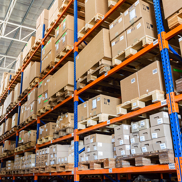 Warehouse stock control system