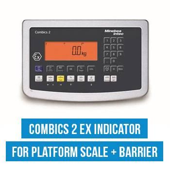 Combics 2 Ex Indicator for Platform Scale + Barrier