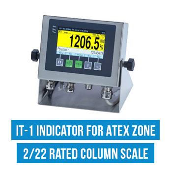 IT-1 indicator for Atex Zone 2/22 Rated Column Scale